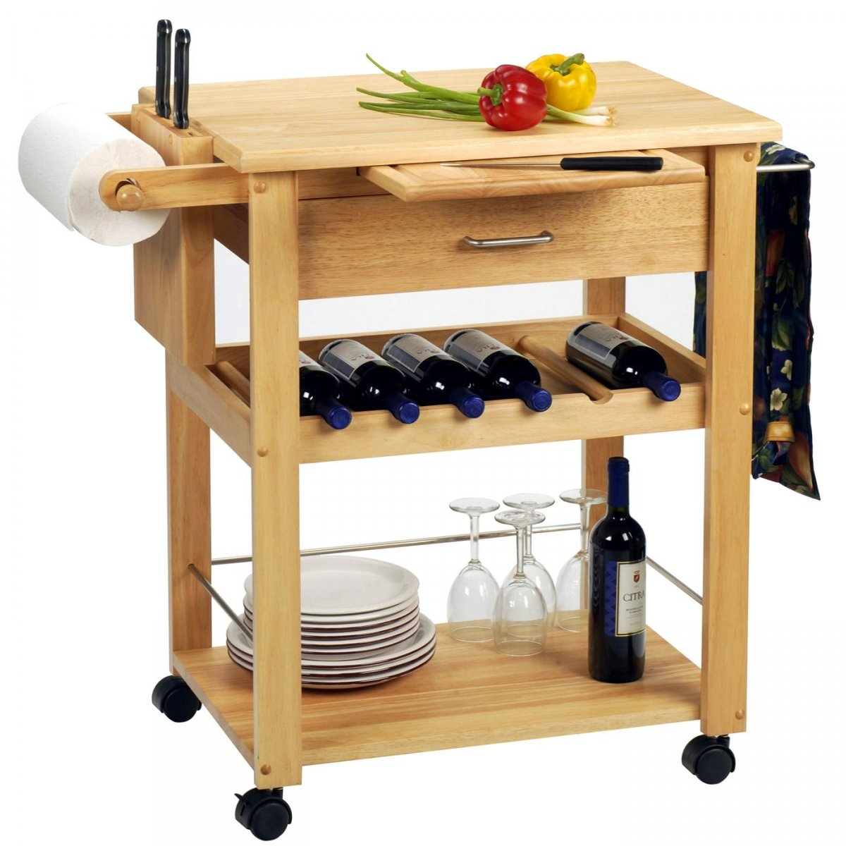 Wine Buffet Table