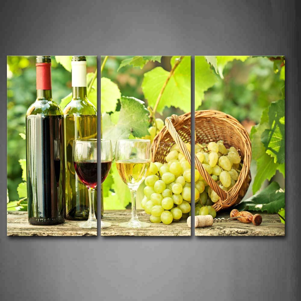 Wine Decor For Kitchen Walls