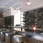 wine decor kitchen