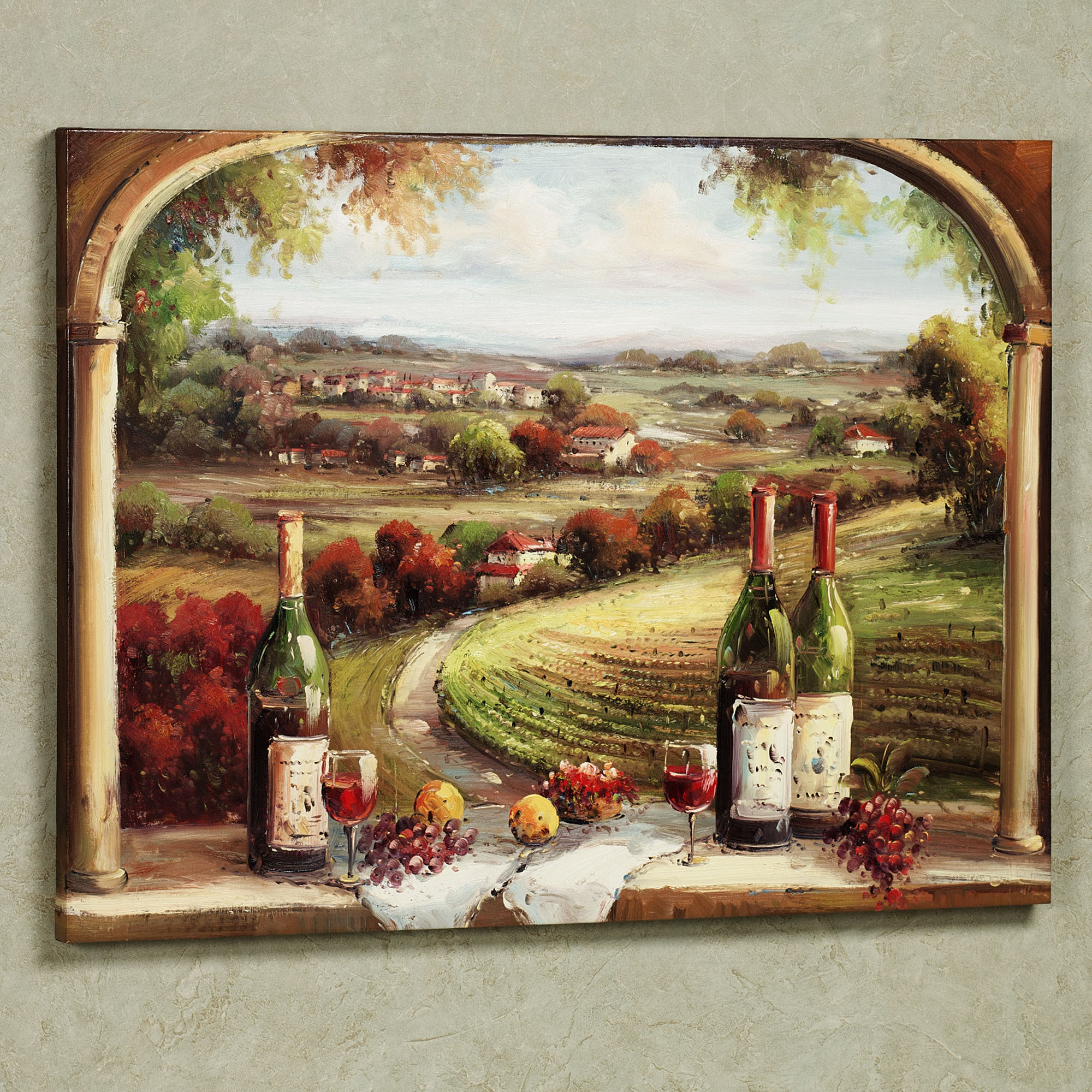 Ideas For Kitchen Wall Decor: Tasteful Ideas For Wine Kitchen Décor