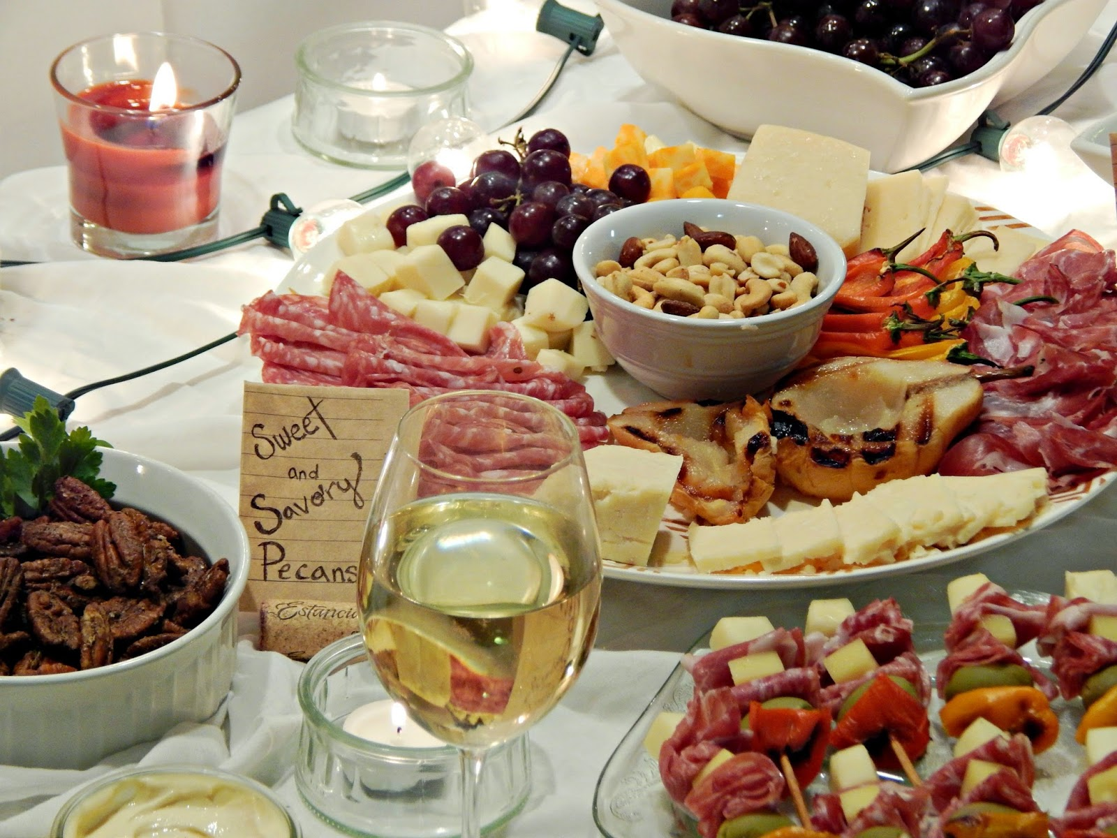 Wine Tasting Party Food