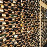 wine wall decor kitchen