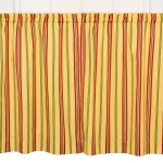 Yellow Bathroom Window Curtains