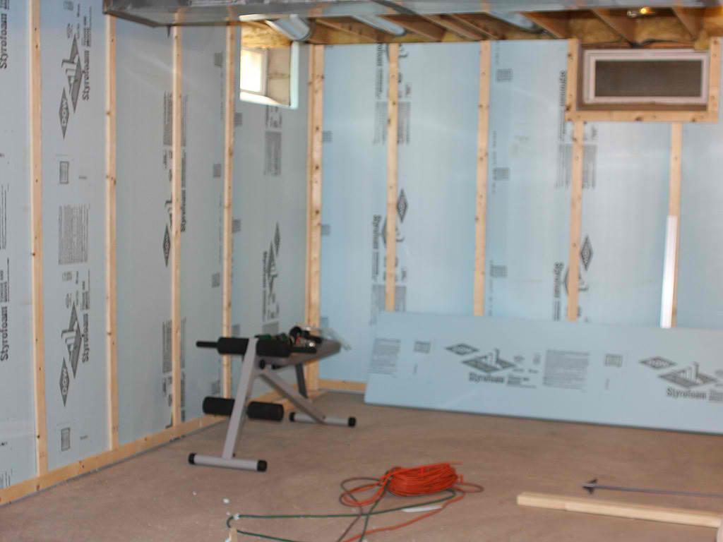 Basement to beautiful wall panels