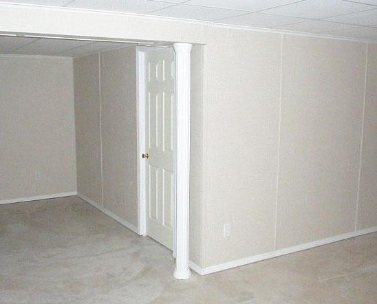 Basement wall panels