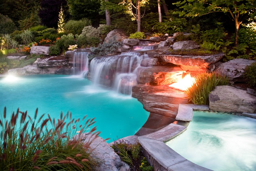 Best above ground pool landscape ideas