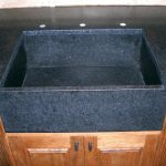black-honed-granite-countertops