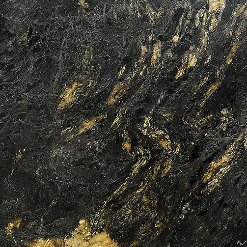 Black titanium granite countertops