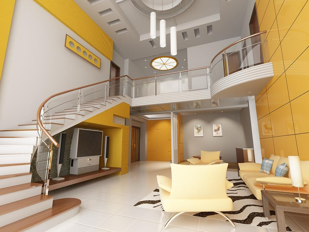 Color scheme living room