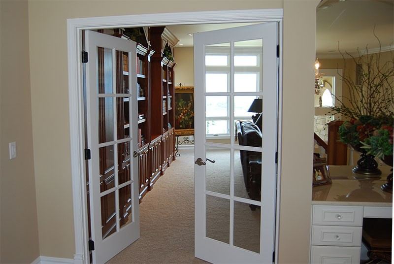 Double french exterior doors