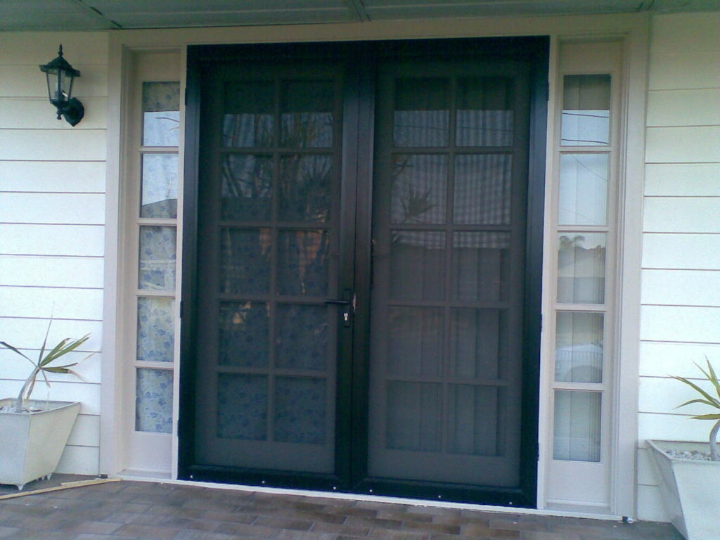 French doors with screens what are your choices a for Screen doors for french doors