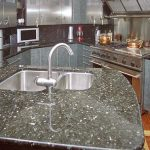Granite Tile Countertop Installation