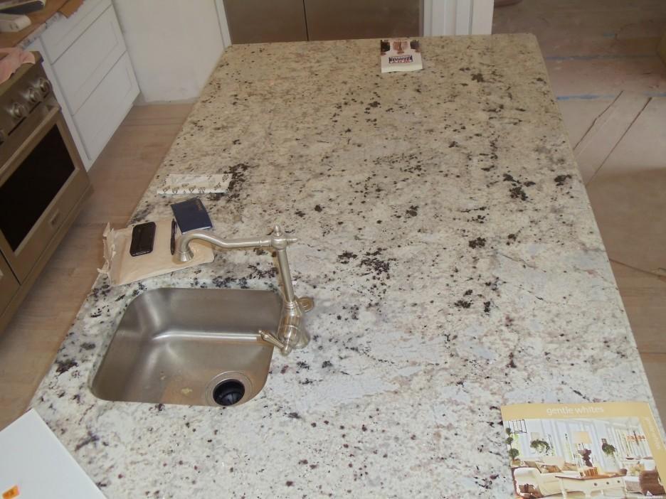 Granite tile countertops diy