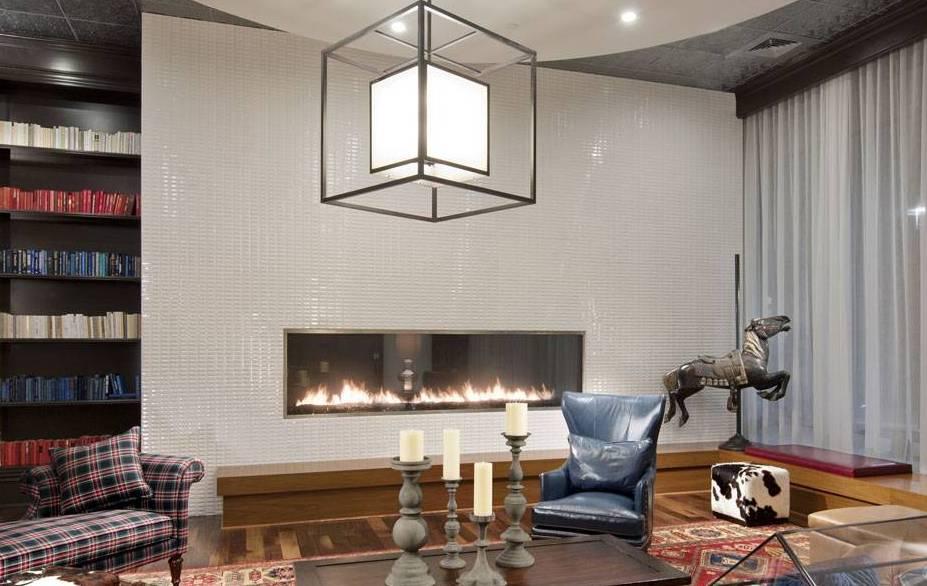 How do make linier fireplace