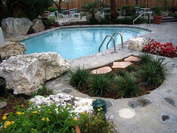 Swimming Pool Landscaping A Creative Mom