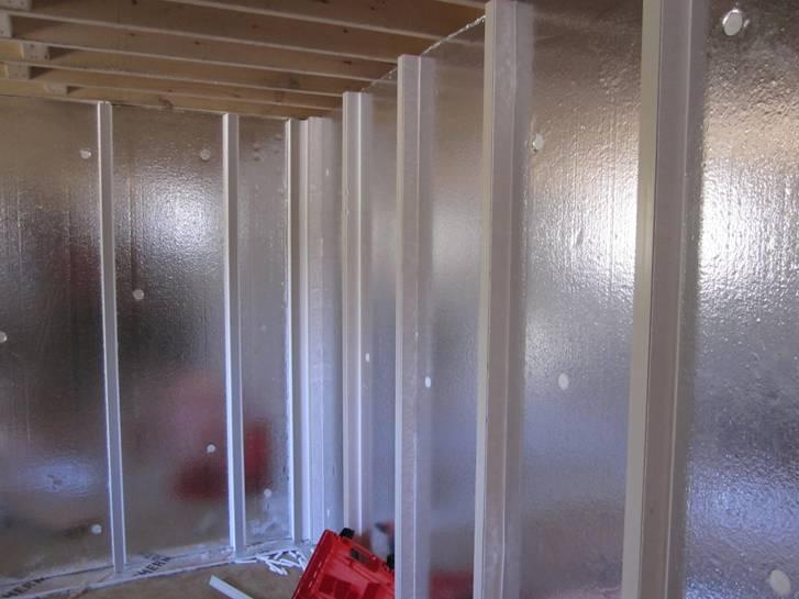 Insulated basement walls