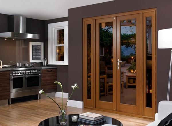 Interior french glass doors
