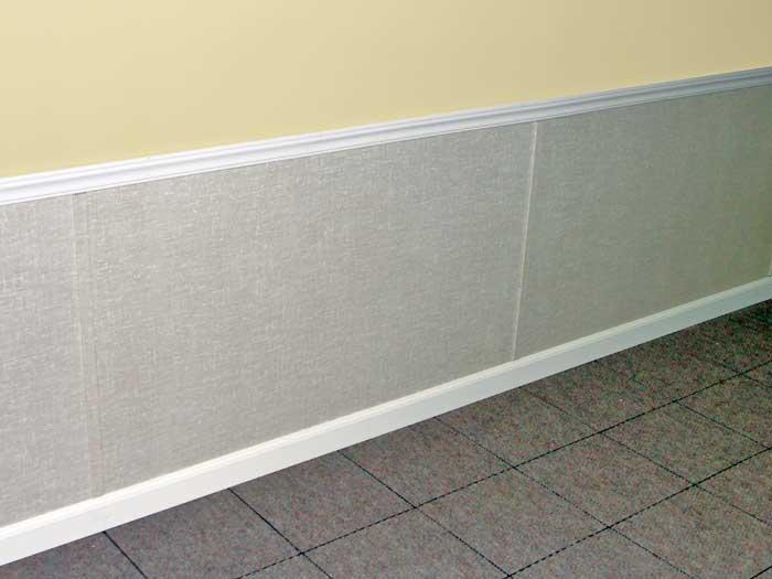 Interior metal wall panels