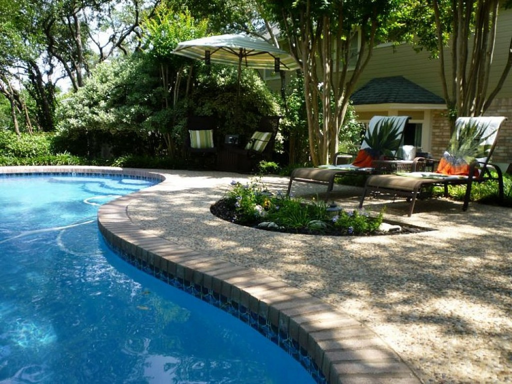 Intex pool landscaping ideas