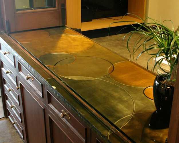 Kitchen countertop material ideas