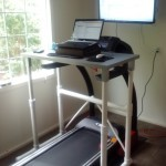 Make Your Own Treadmill Desk