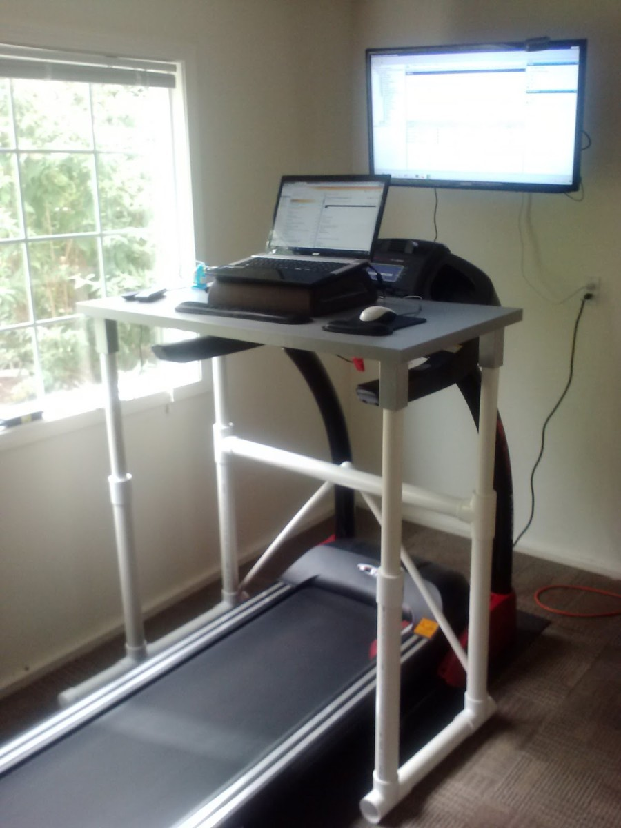 Make Your Own Treadmill Desk
