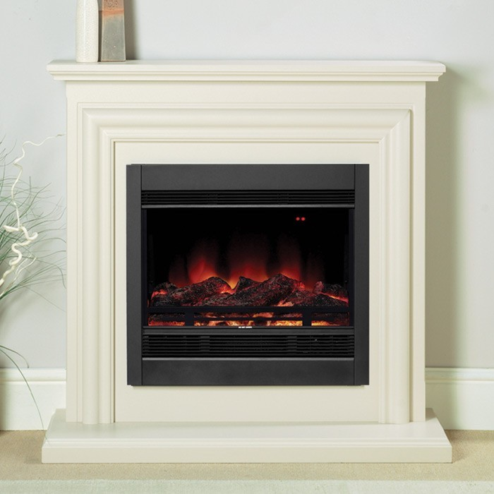 Modern electric fireplace insert