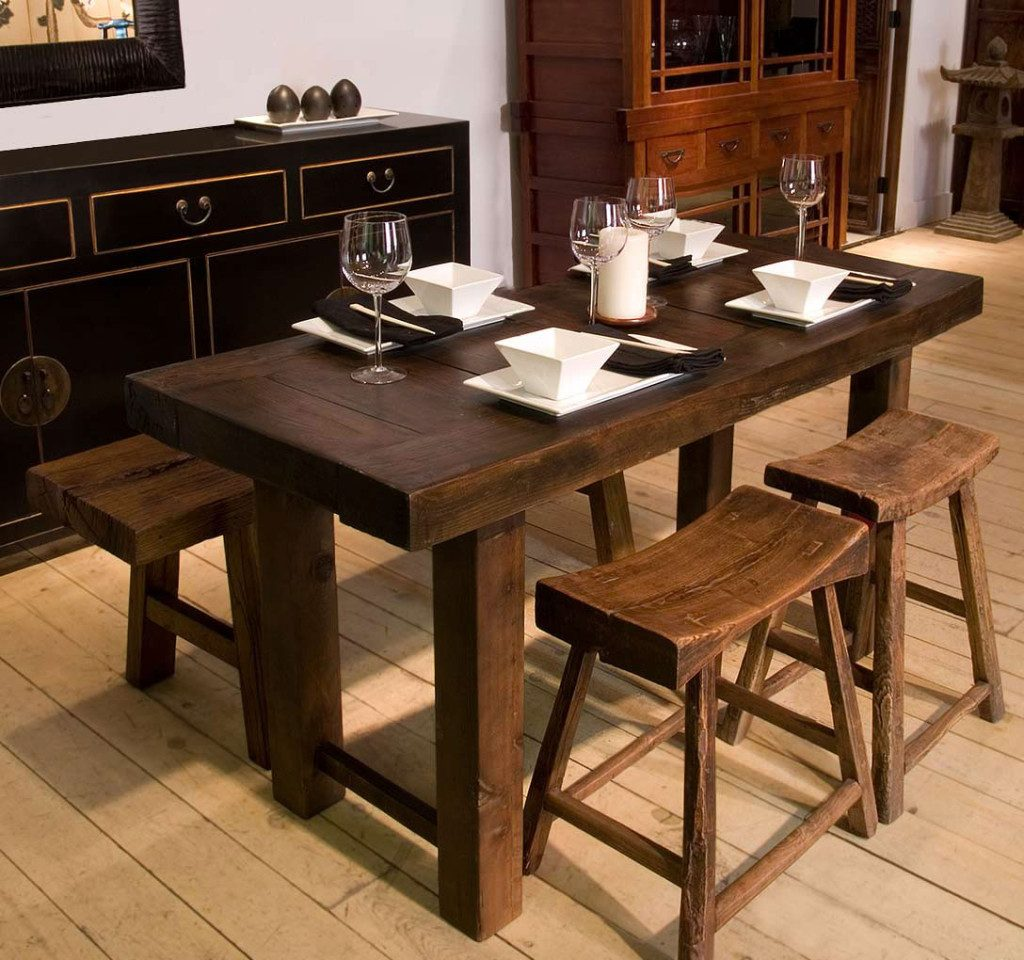 Narrow Dining Table