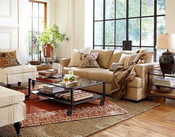 Pottery barn living room gallery