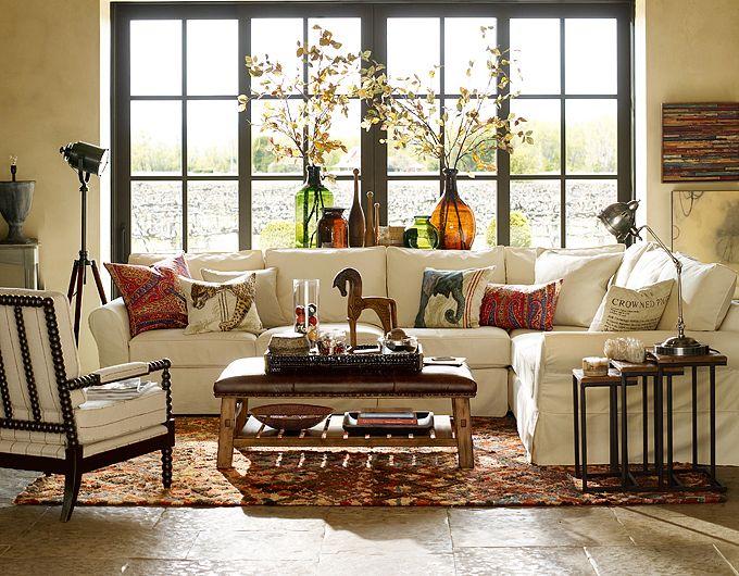 Pottery Barn Living Room Ideas A Creative Mom