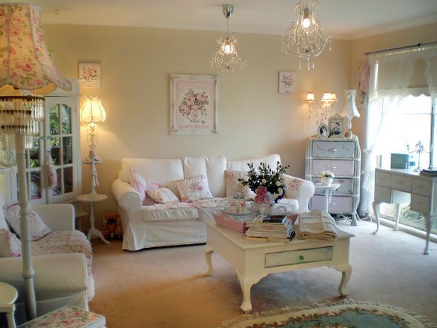 Shabby Chic Living Room Ideas A Creative Mom