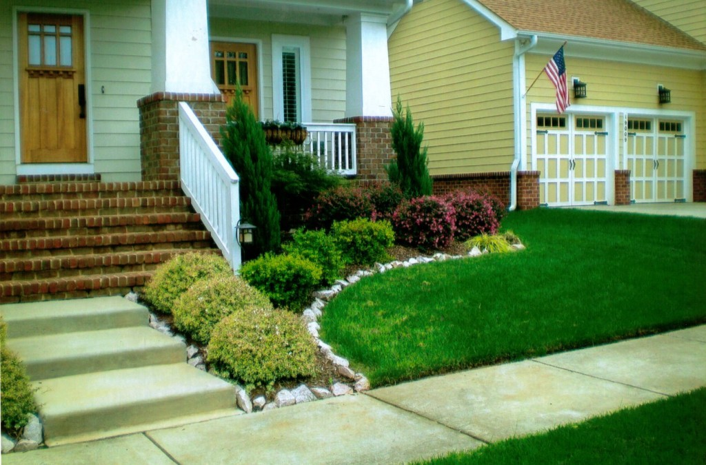Simple landscaping ideas for front yards 1024x675