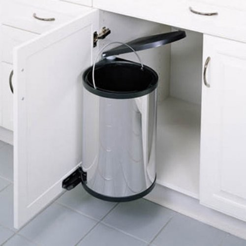 Stainless steel kitchen garbage cans