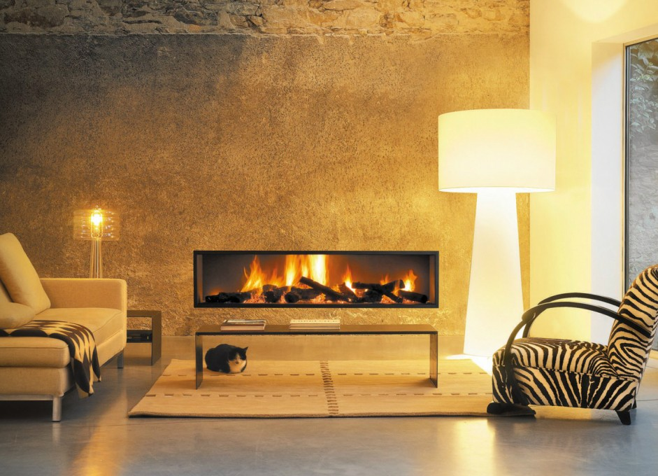 Tips linier fireplace