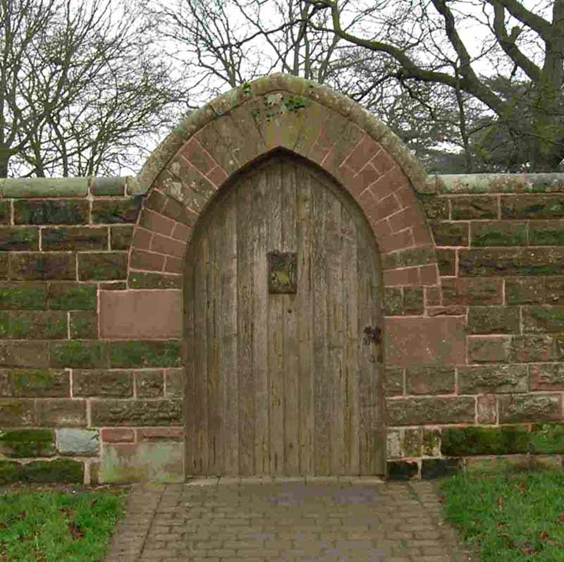 Wood garden gate designs