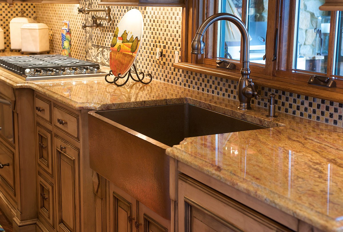 To Patina or Not to Patina with Copper Kitchen Sinks