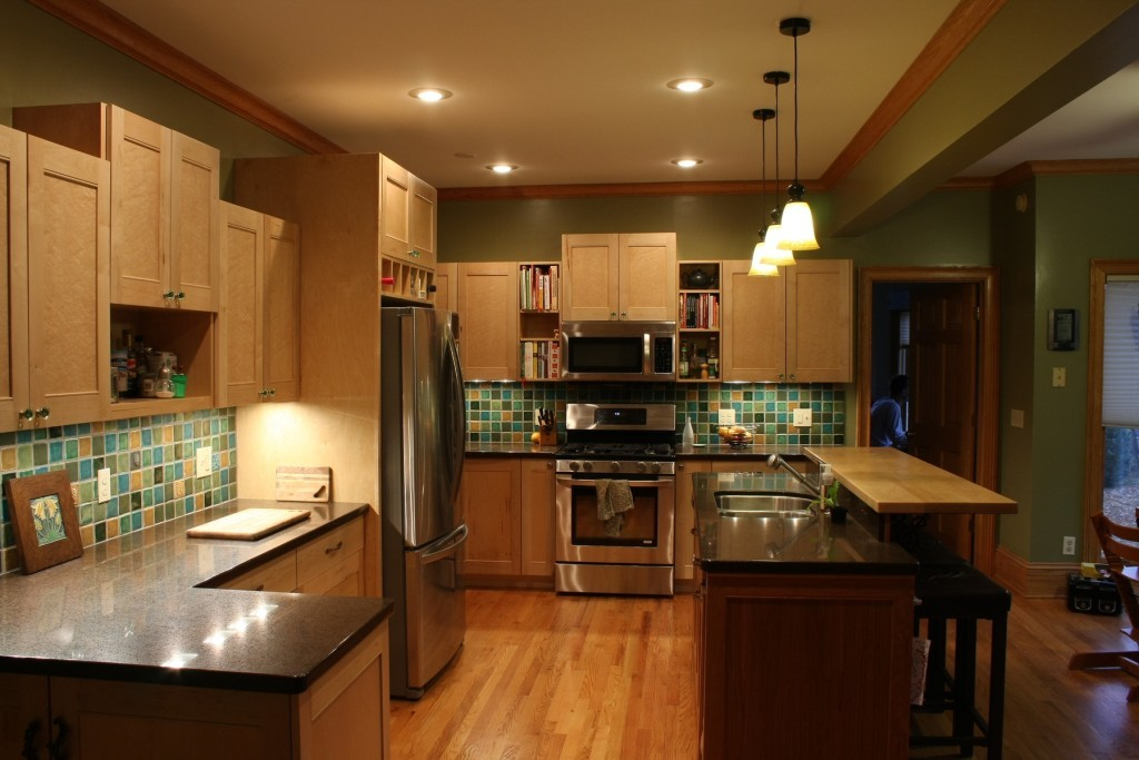 How to clean maple kitchen cabinets 1024x683
