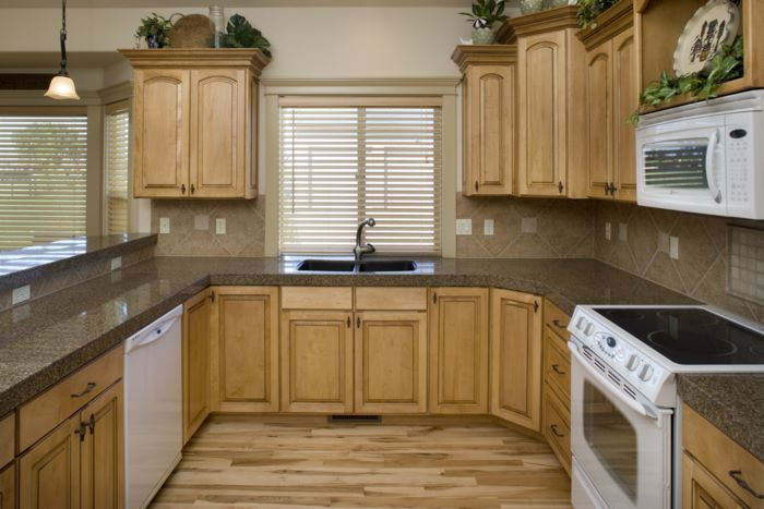 Kitchens With Maple Cabinets | A Creative Mom