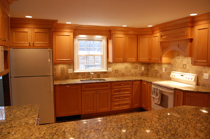 Painting maple kitchen cabinets