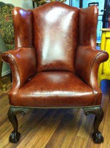The Elegant Queen Anne Chair