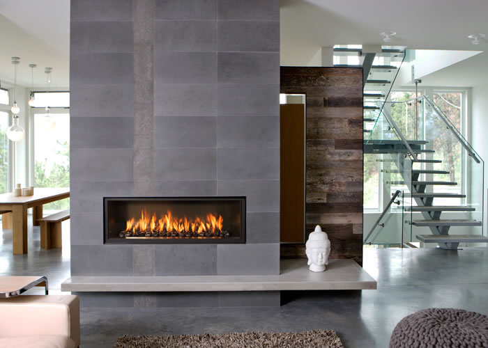Town and country gas fireplaces