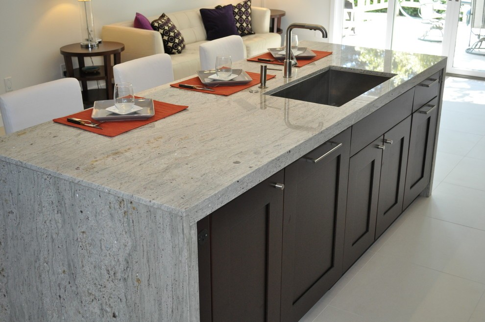White Granite Countertops Look Like Marble
