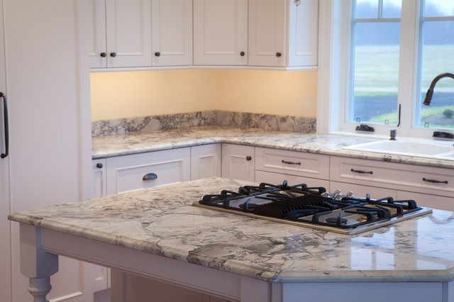 White kashmir granite countertops