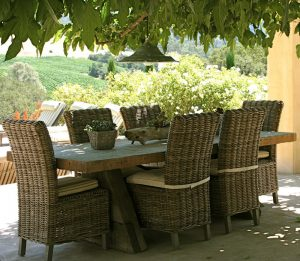Outdoor Furniture Battle: Resin vs Wicker Chairs