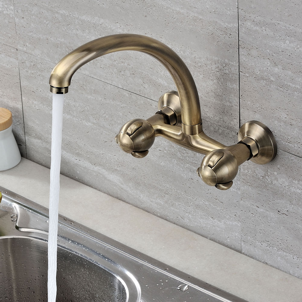 Change it up with a Wall Mount Kitchen Faucet