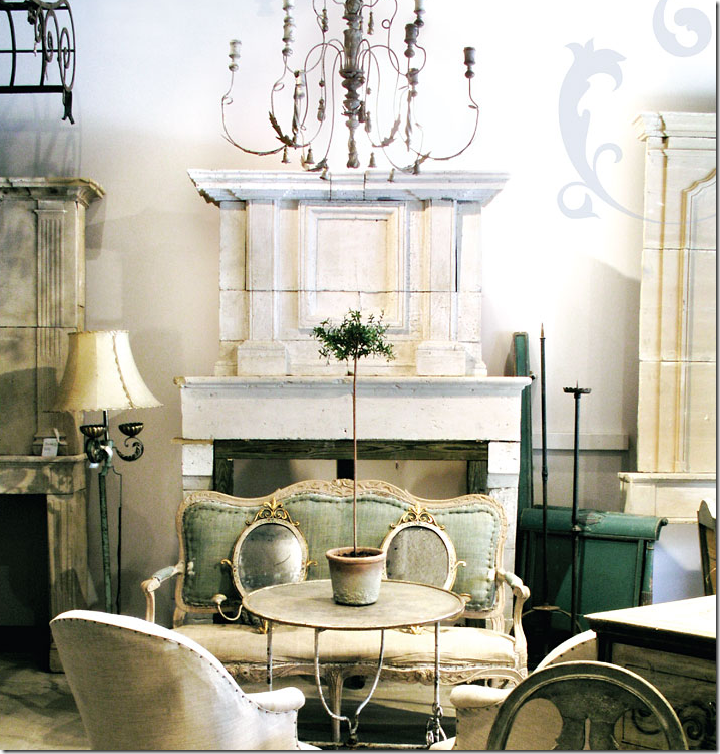 Furniture Design For French Home Interior. Antique Decorating Ideas A  Creative Mom