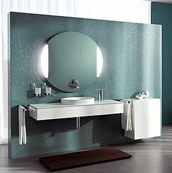 Contemporary Bathroom Mirrors A