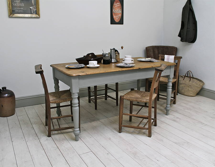 Farmhouse Kitchen Tables For A