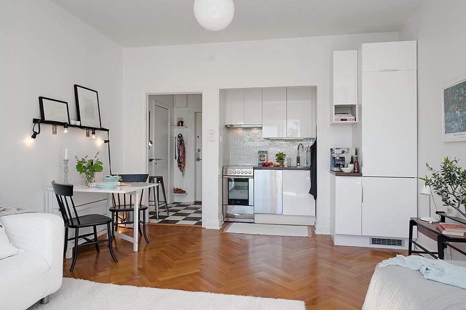 Apartment kitchen decorating