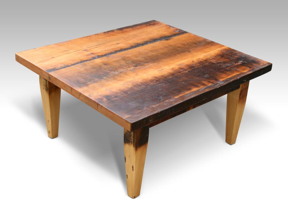 How to build a rustic coffee table